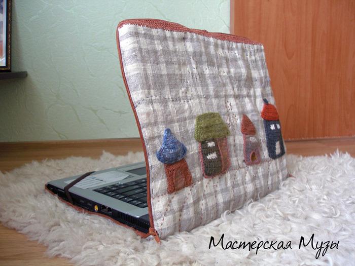 Чехол для ноутбука своими руками из джинсы - Septikblog.ru